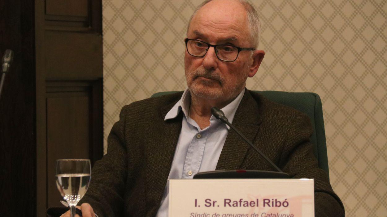Rafel Ribó, Síndic de Greuges de Catalunya / Foto: ACN