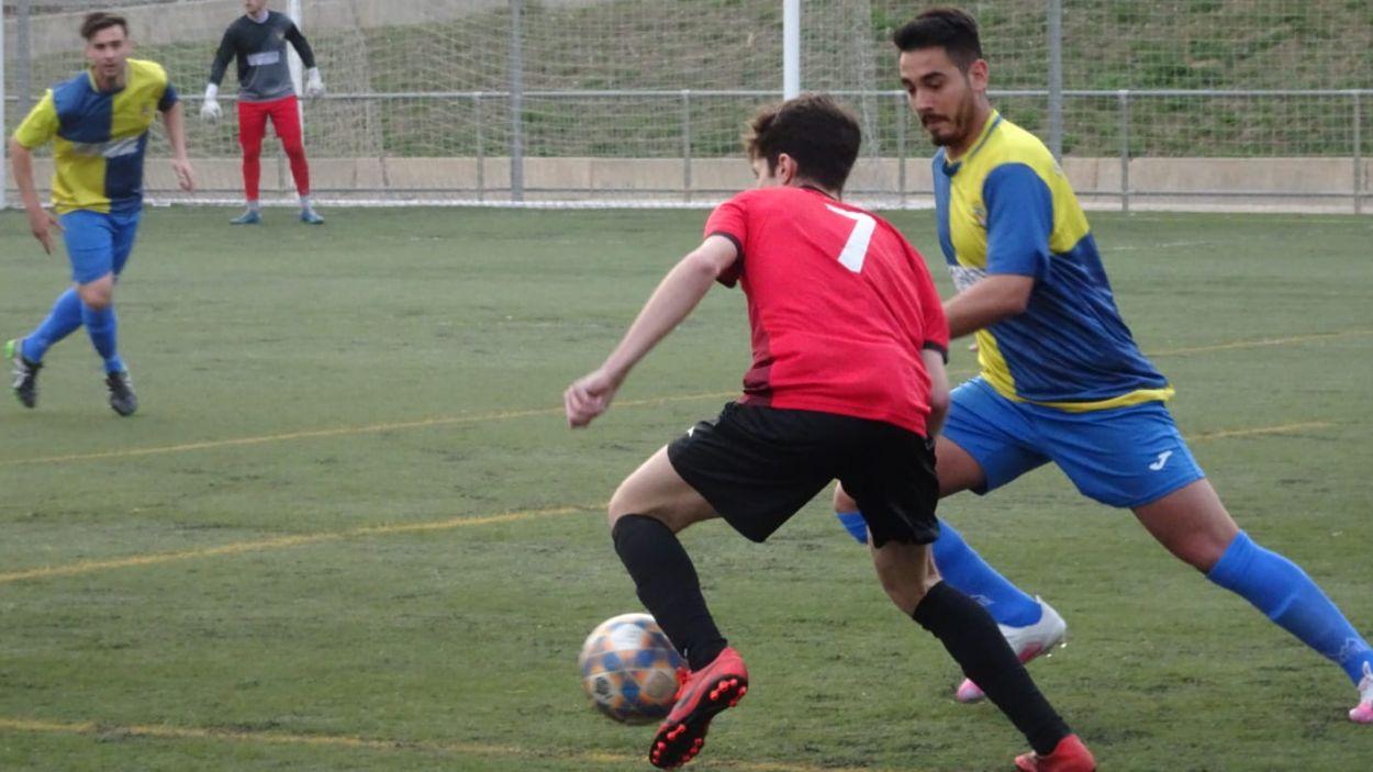 El SantCu vol sumar tres punts davant el Rubí / Foto: Ràdio Sabadell