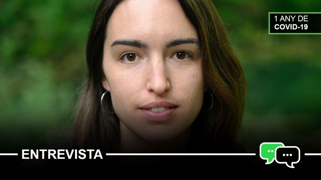 Amanda Bernal, antropòloga santcugatenca / Foto: Cedida