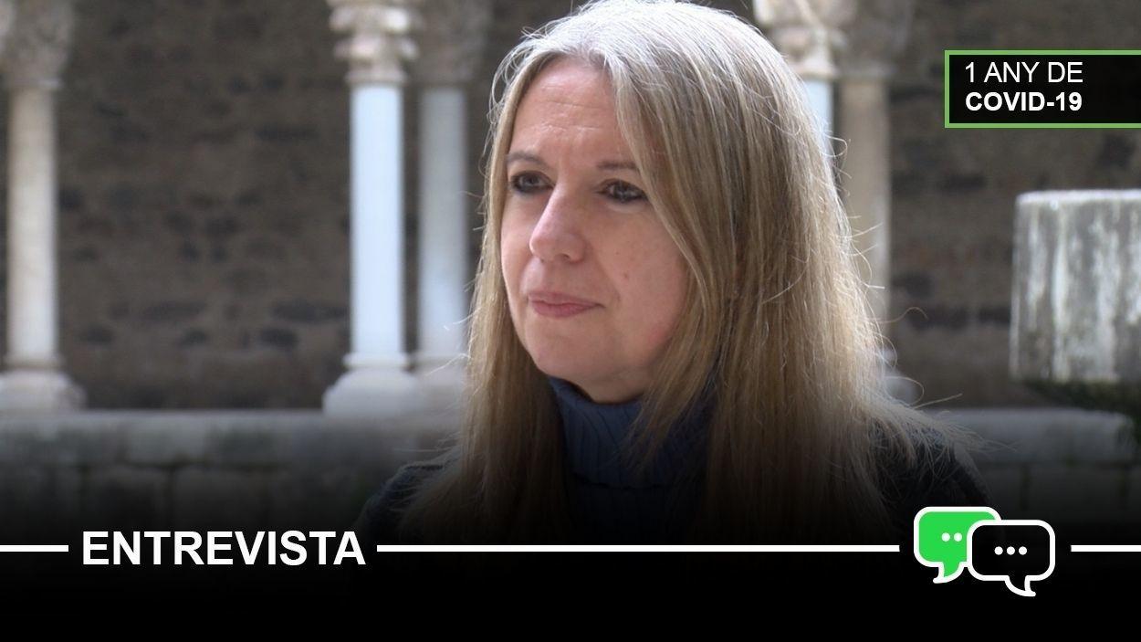 L'alcaldessa de Sant Cugat, Mireia Ingla / Foto: Cugat Mèdia
