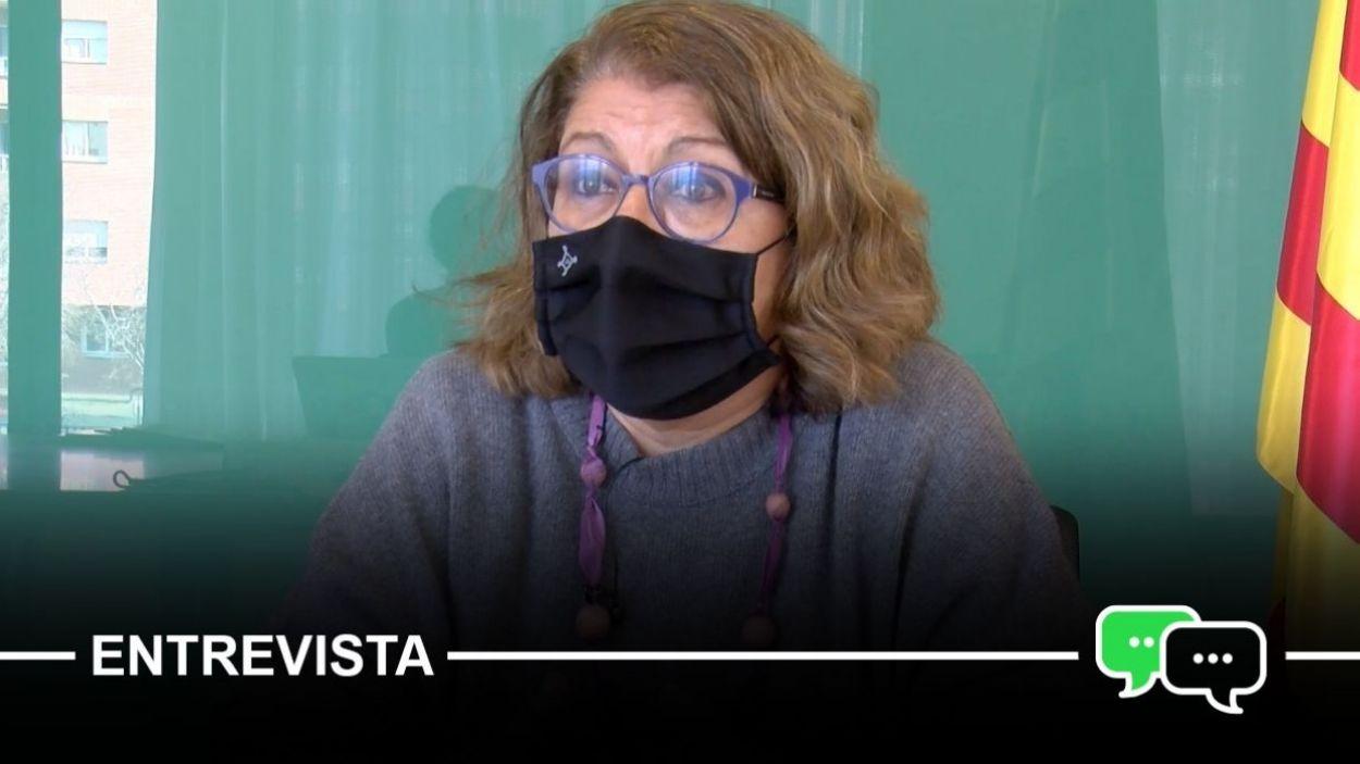 La regidora d'Educació de Sant Cugat, Pilar Gorina / Foto: Cugat Mèdia