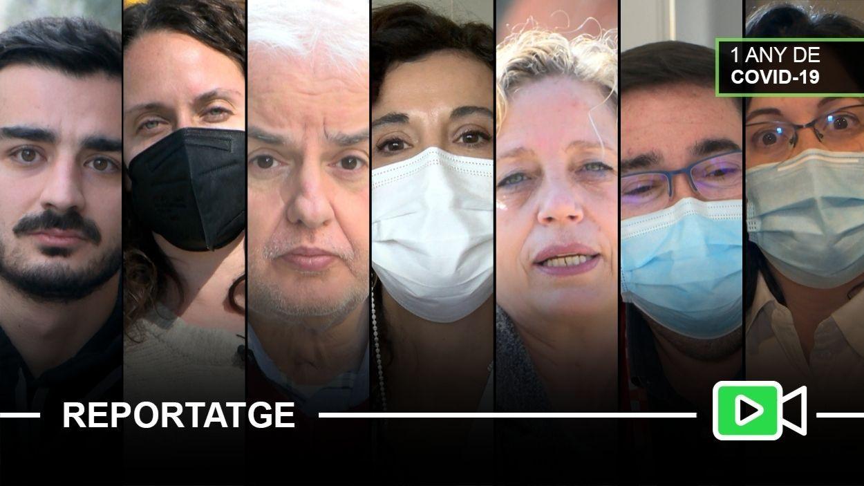 Alguns dels protagonistes del reportatge / Foto: Cugat Mèdia