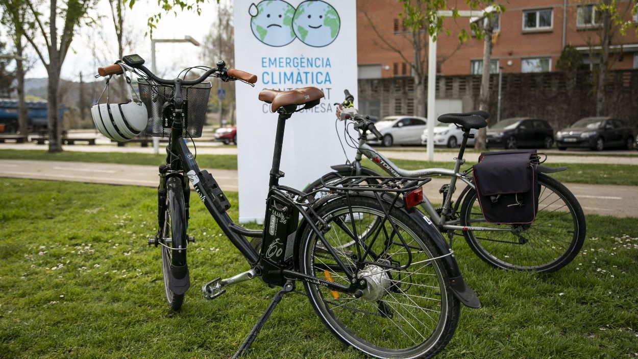 Sant Cugat fomentarà amb el nou Pla d'Emergència Climàtica una mobilitat més sostenible / Foto: Lali Puig (Ajuntament)