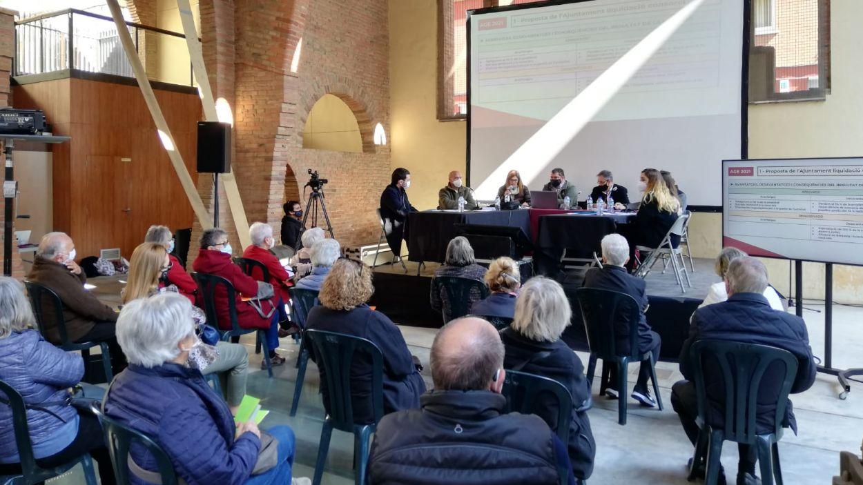 L'assemblea de socis de la Unió s'ha celebrat al Celler Modernista / Foto: Cugat Mèdia