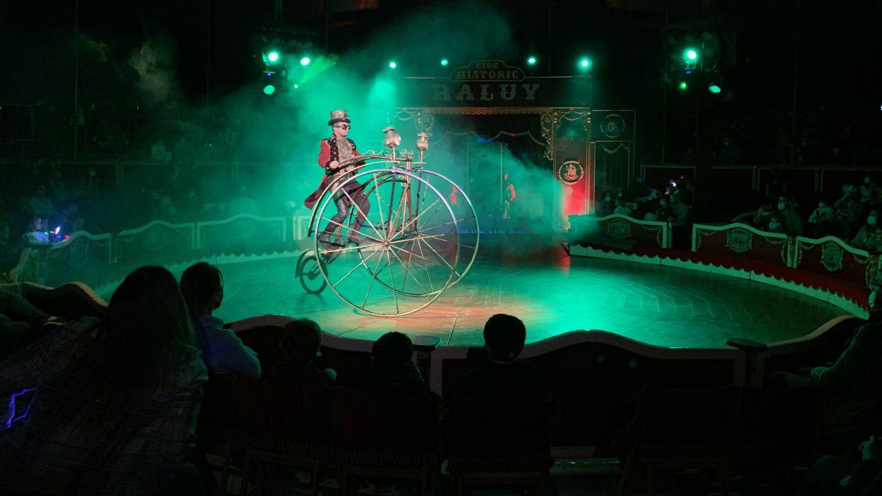El Circ Rosa Raluy estarà a Sant Cugat fins al 21 de març / Foto: Cugat Mèdia