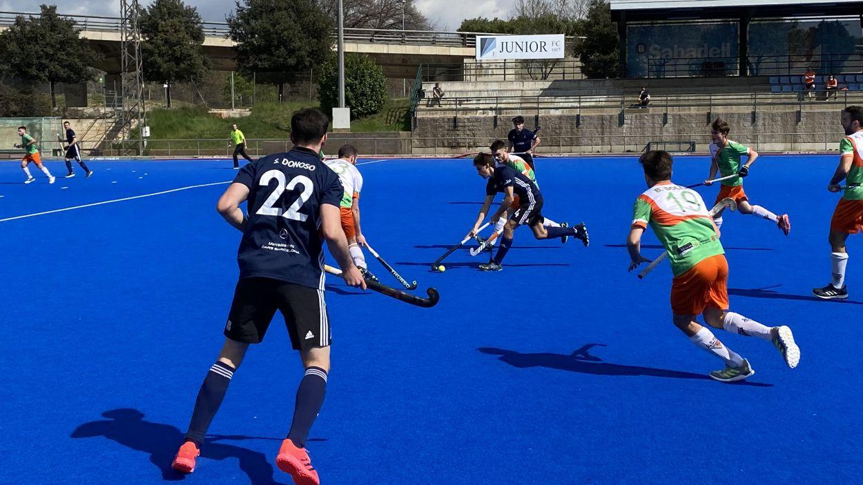 El Junior venç per golejada i s'allunya de les places de descens / Foto: Cugat Mèdia