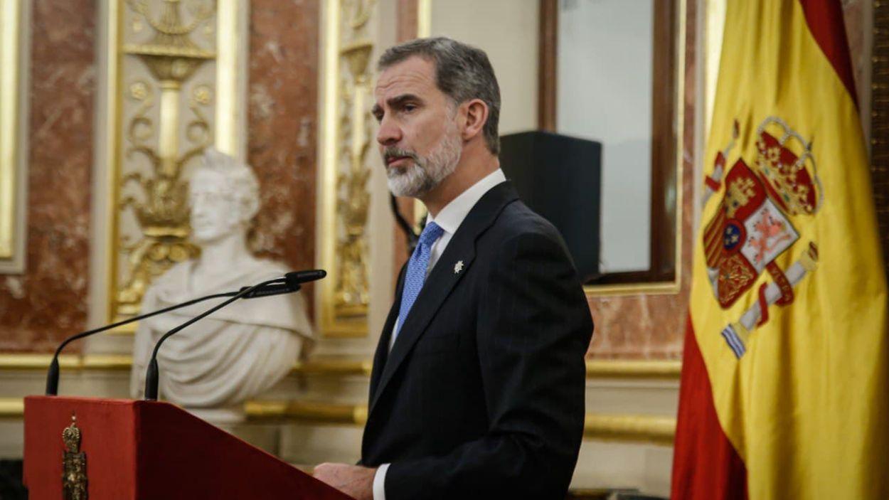 Imatge d'arxiu del cap de l'estat espanyol, Felip VI / Foto: ACN