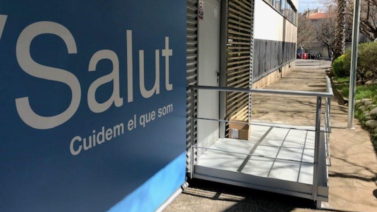 Imatge del nou mòdul al CAP de Sant Cugat / Foto: Mútua Terrassa