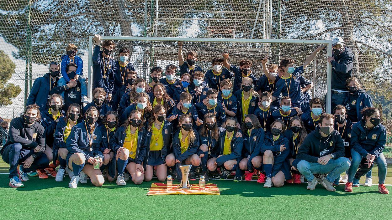 Destacada aportació del Junior a les seleccions catalanes sub 16 / Foto: Federació Catalana