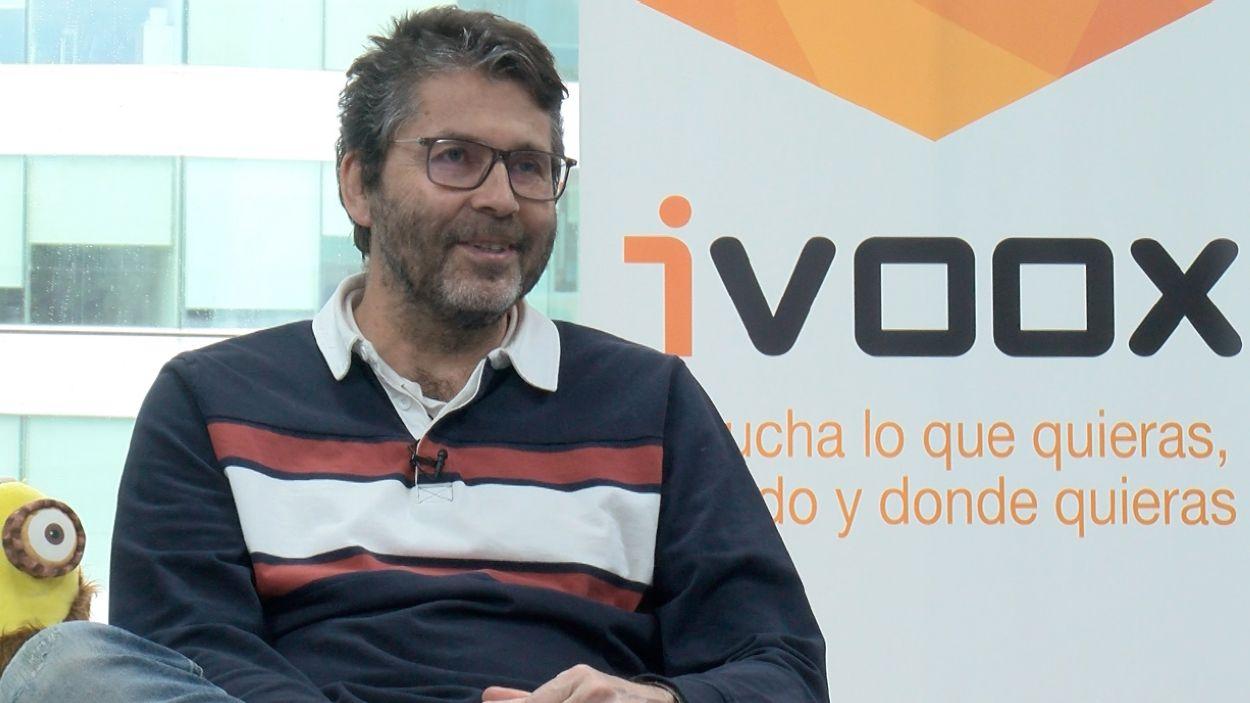Juan Ignacio Solera, fundador d'Ivoox, la primera plataforma de podcasting a Espanya, amb seu a Sant Cugat / Foto: Cugat Mèdia