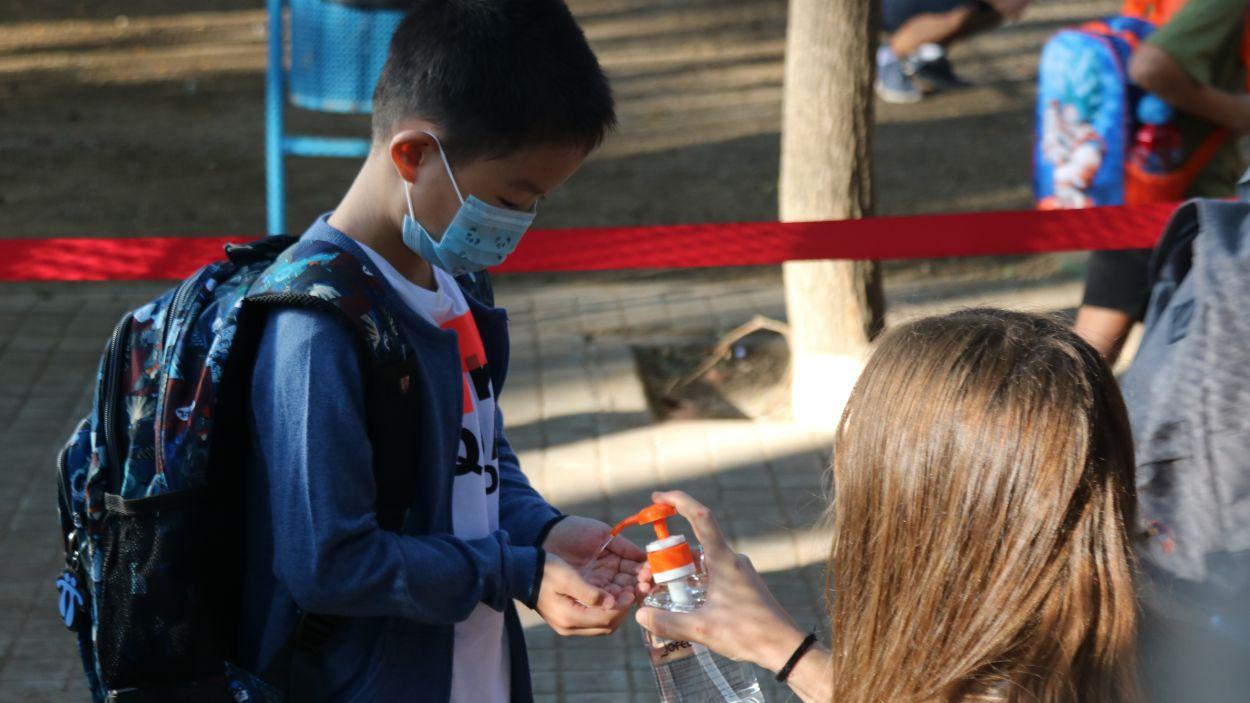 El curs 2021-2022 serà el segon que comença en pandèmia / Foto: ACN