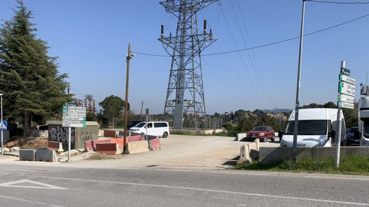Imatge de l'aparcament / Foto: EMD Valldoreix