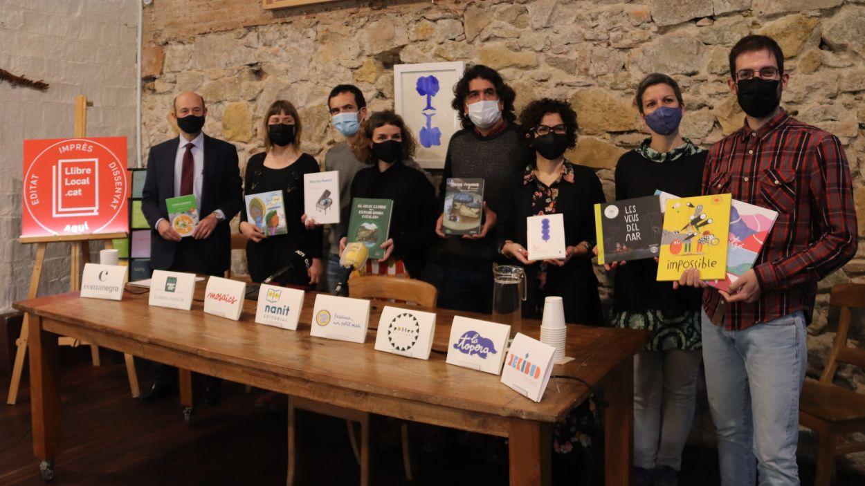 L'editorial santcugatenca Pol·len, entre les impulsores del segell 'Llibre Local'