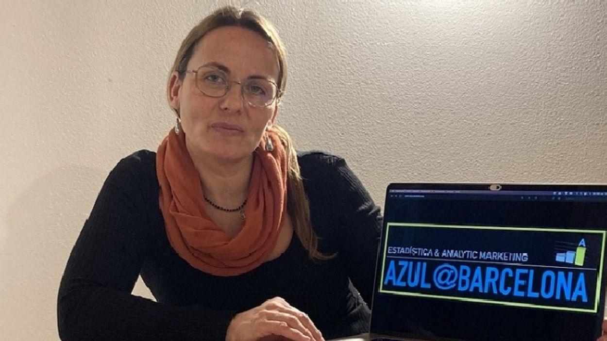 Fina Gutiérrez, Fundadora d'Azul Barcelona/Foto: Azul Barcelona