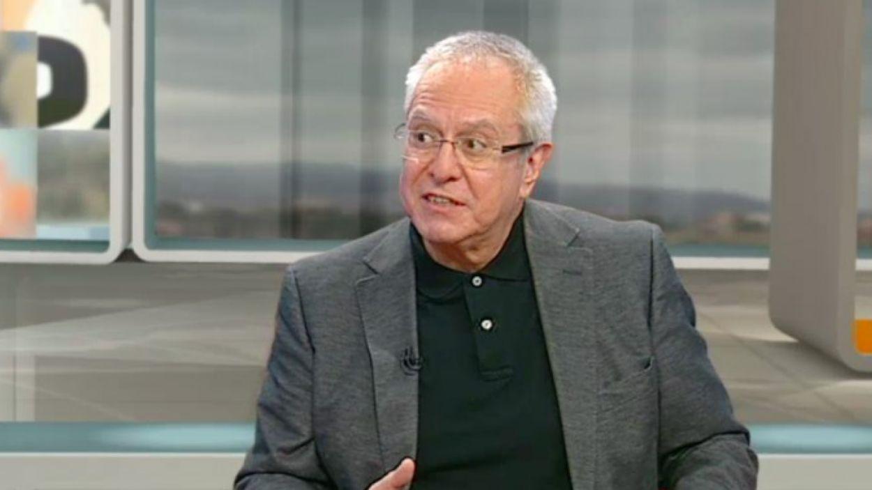 Joan Queralt, catedràtic de Dret penal de la UB / Foto: TV3
