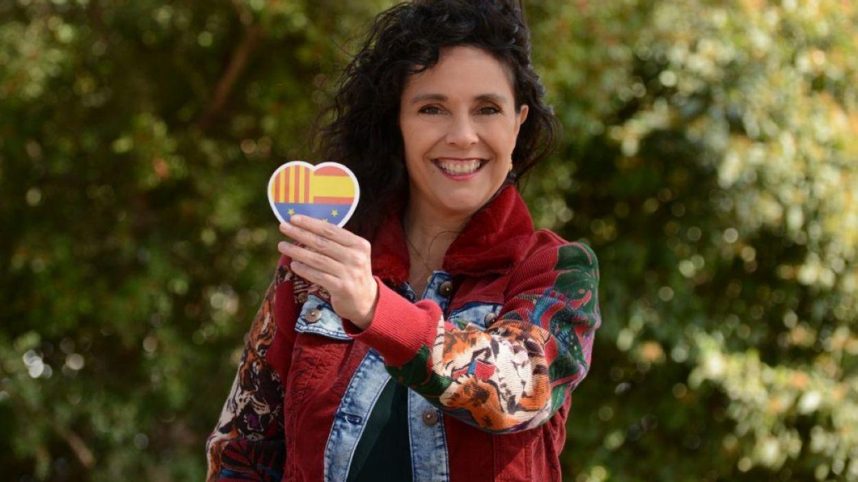 Ana Cano, vocal de Ciutadans a l'EMD de Valldoreix / Foto: Cs