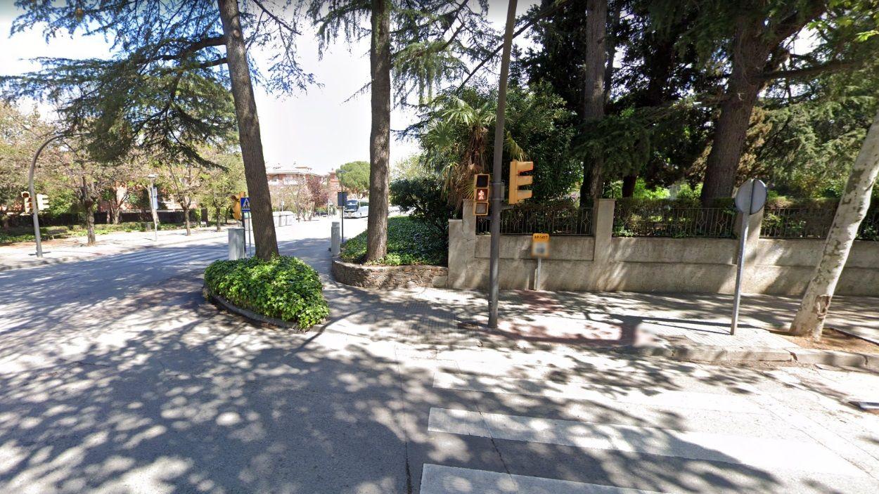 Visita a la nova senyalització del camí escolar de l'escola Pi d'en Xandri