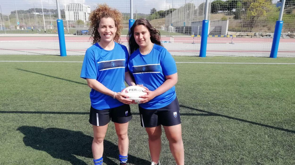 D'esquerra a dreta, Beatriz González i Carla Moraleda / Foto: Cugat Mèdia