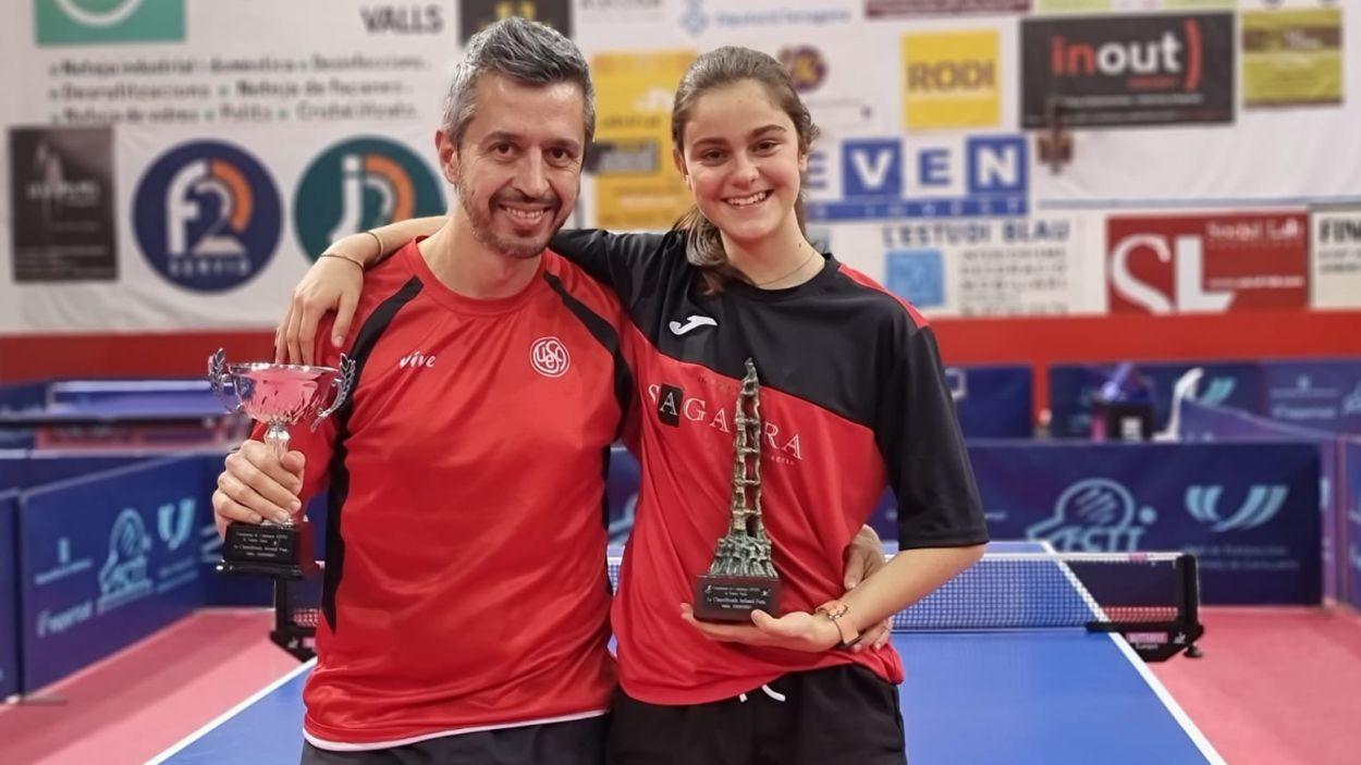 Mariona Munné, campiona de Catalunya infantil / Foto: UESC