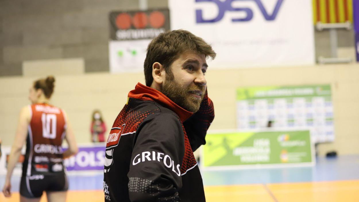 Rafa Ruiz seguirà una temporada més al capdavant del club santcugatenc / Foto: Mireia Norberto