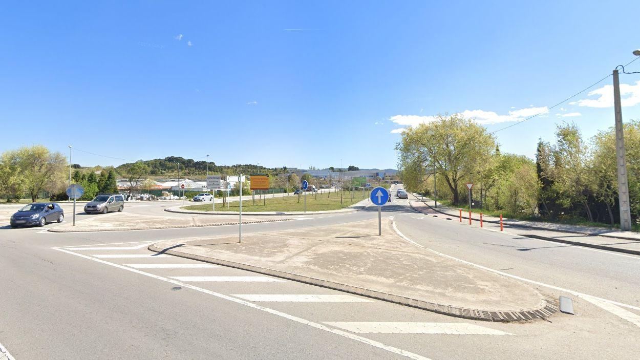 La cruïlla es troba a la carretera de Rubí / Foto: Google Maps