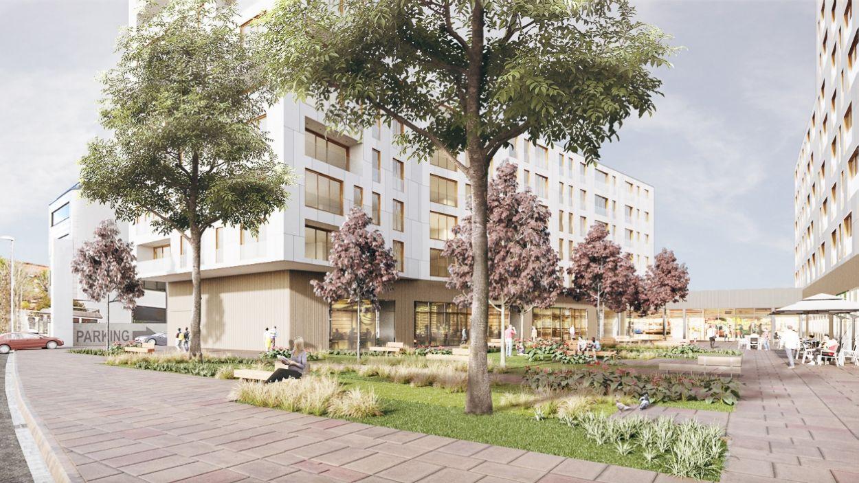 Render del futur complex Ragull Centre / Foto: Ajuntament de Sant Cugat
