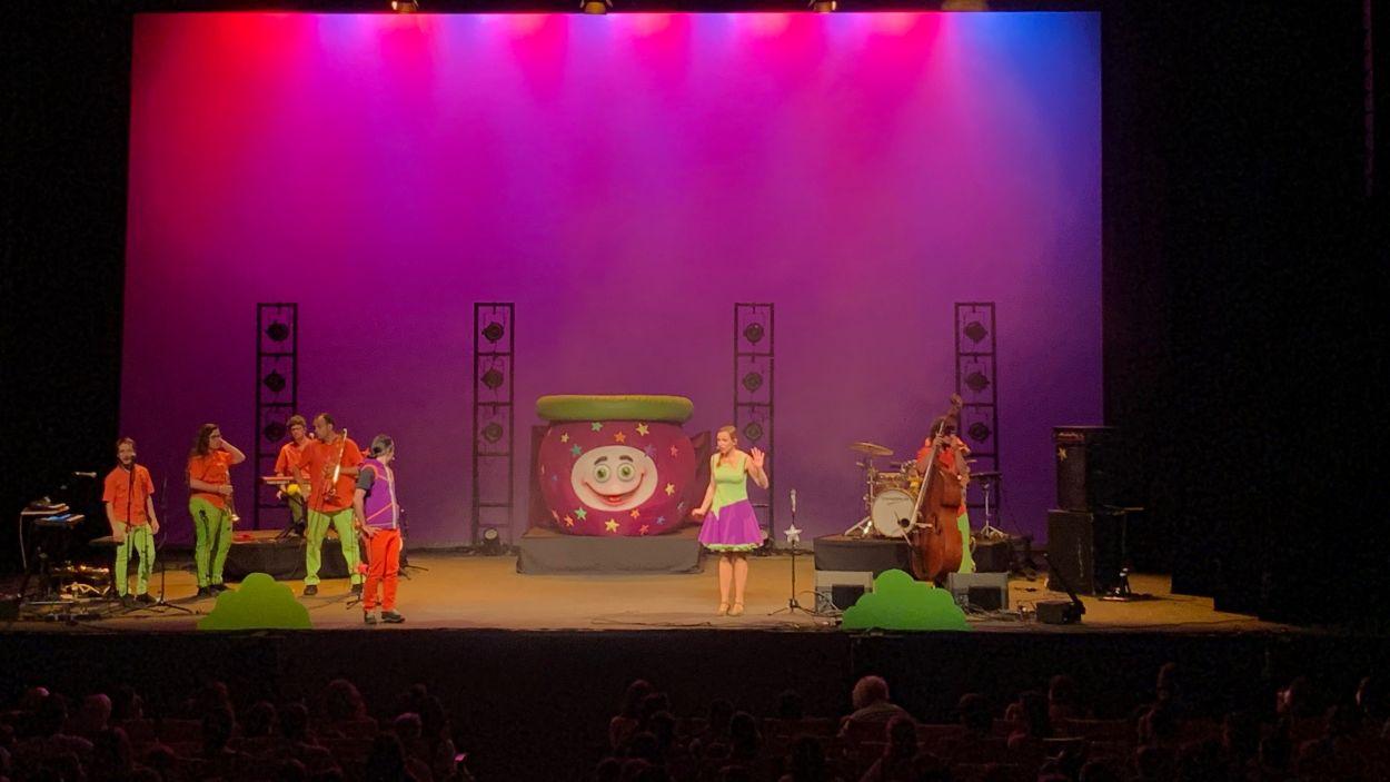 El Pot Petit al Teatre-Auditori / Foto: Cugat Mèdia