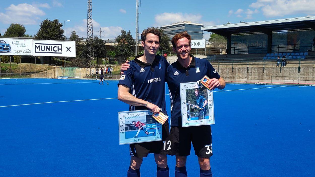 D'esquerra a dreta, Frank di Mercurio i Oriol Malgosa / Foto: Cugat Mèdia