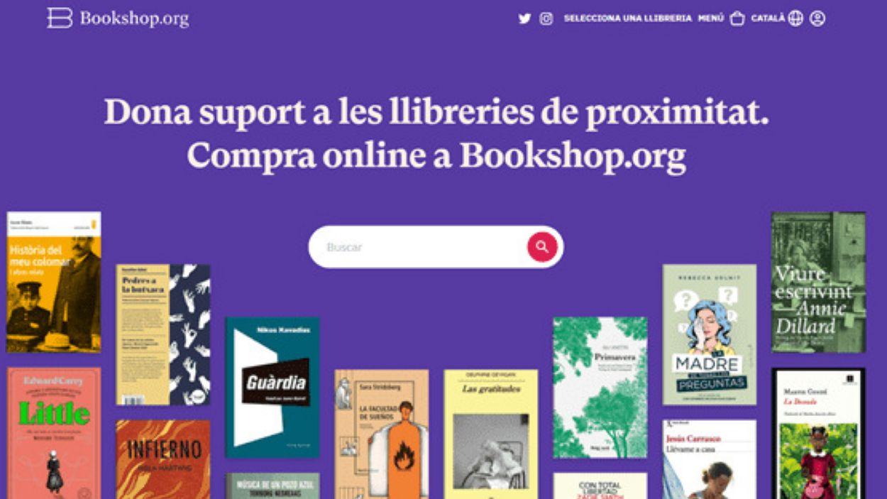 Una seixantena de llibreries catalanes ja formen part de la plataforma / Foto: Bookshop.org