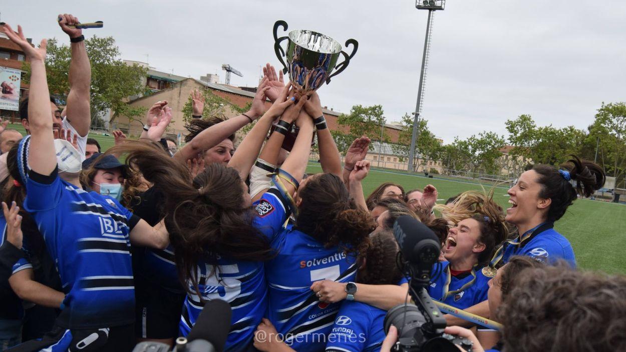 El Rugby Sant Cugat és de Divisió d'Honor / Foto: Roger Menes