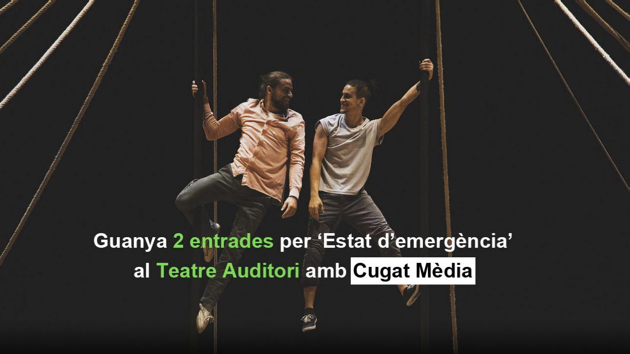 Aconsegueix dues entrades pel Teatre-Auditori amb el concurs de Microrelats de Cugat Mèdia