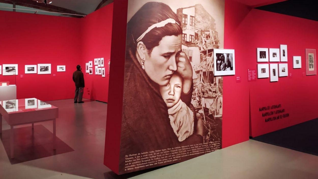 Un 'passeig' dins la capsa vermella de les fotos de la Guerra Civil de Campañà