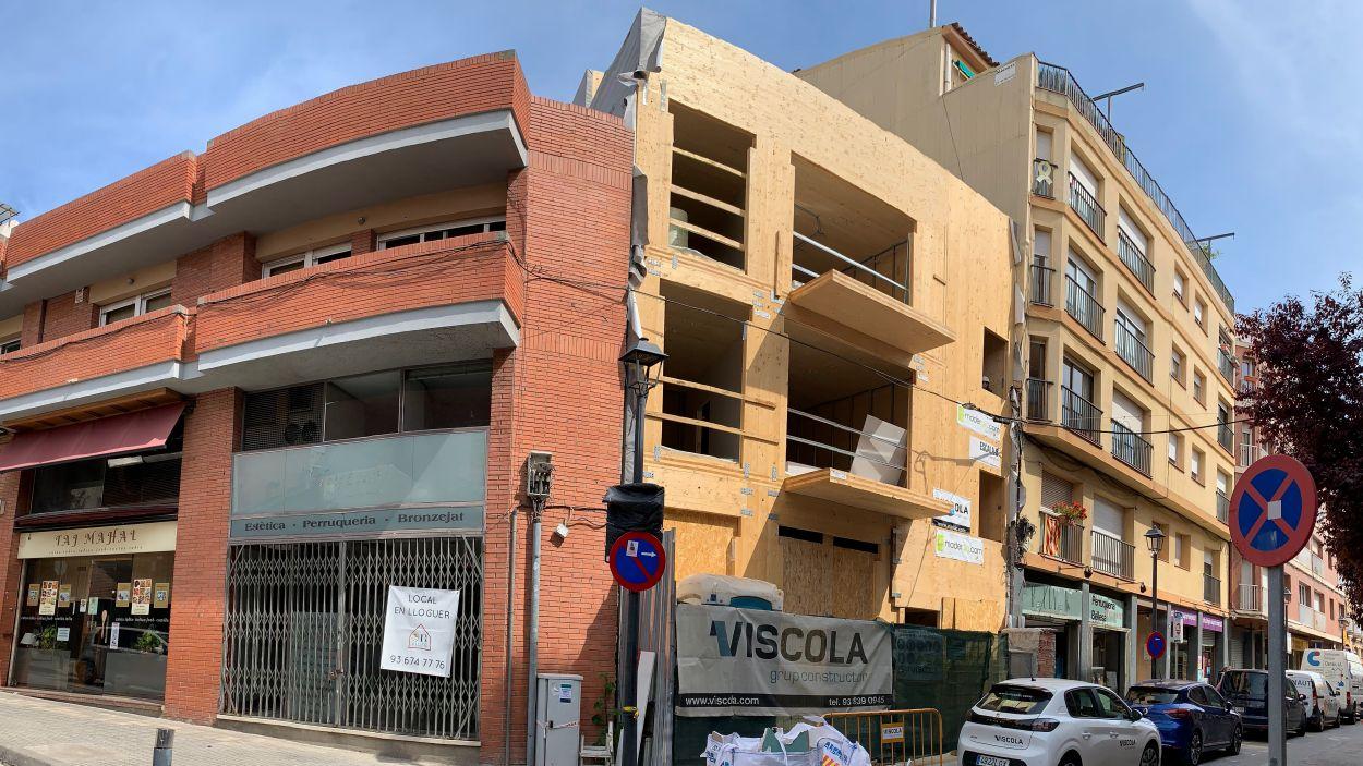 La nova promoció es troba a l'avinguda de Catalunya / Foto: Cugat Mèdia