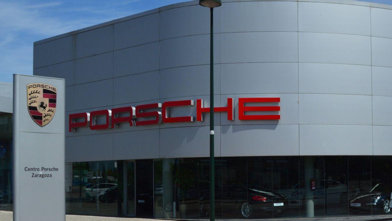 Un concessionari Porsche a Saragossa / Foto: Porsche