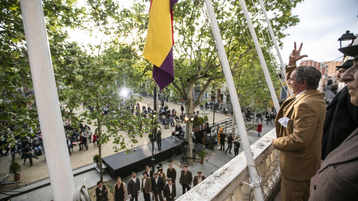 Un moment de la representació / Foto: Lali Puig