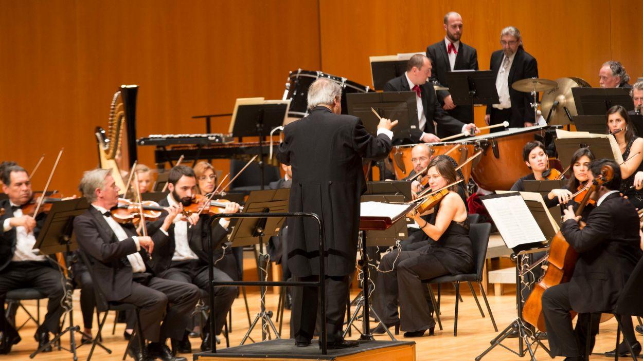 Imatge d'arxiu d'una actuació de l'Orquestra Simfònica Sant Cugat / Foto: Teatre-Auditori Sant Cugat