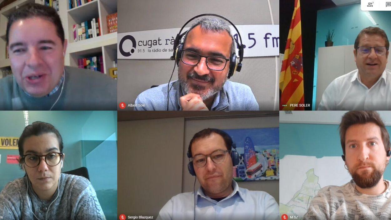 La Mirada i el projecte Ragull Centre, a debat a la tertúlia política 'El Gall del Monestir'
