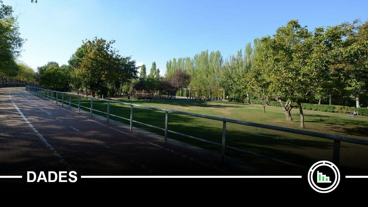 El projecte més votat va ser la construcció d'espais d'ombra als parcs / Foto: Localpres