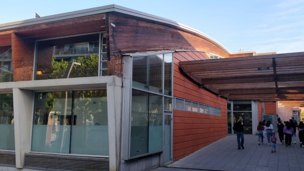 Imatge d'arxiu del gimnàs municipal de Sant Cugat, a la Rambla del Celler / Foto: Cugat Mèdia