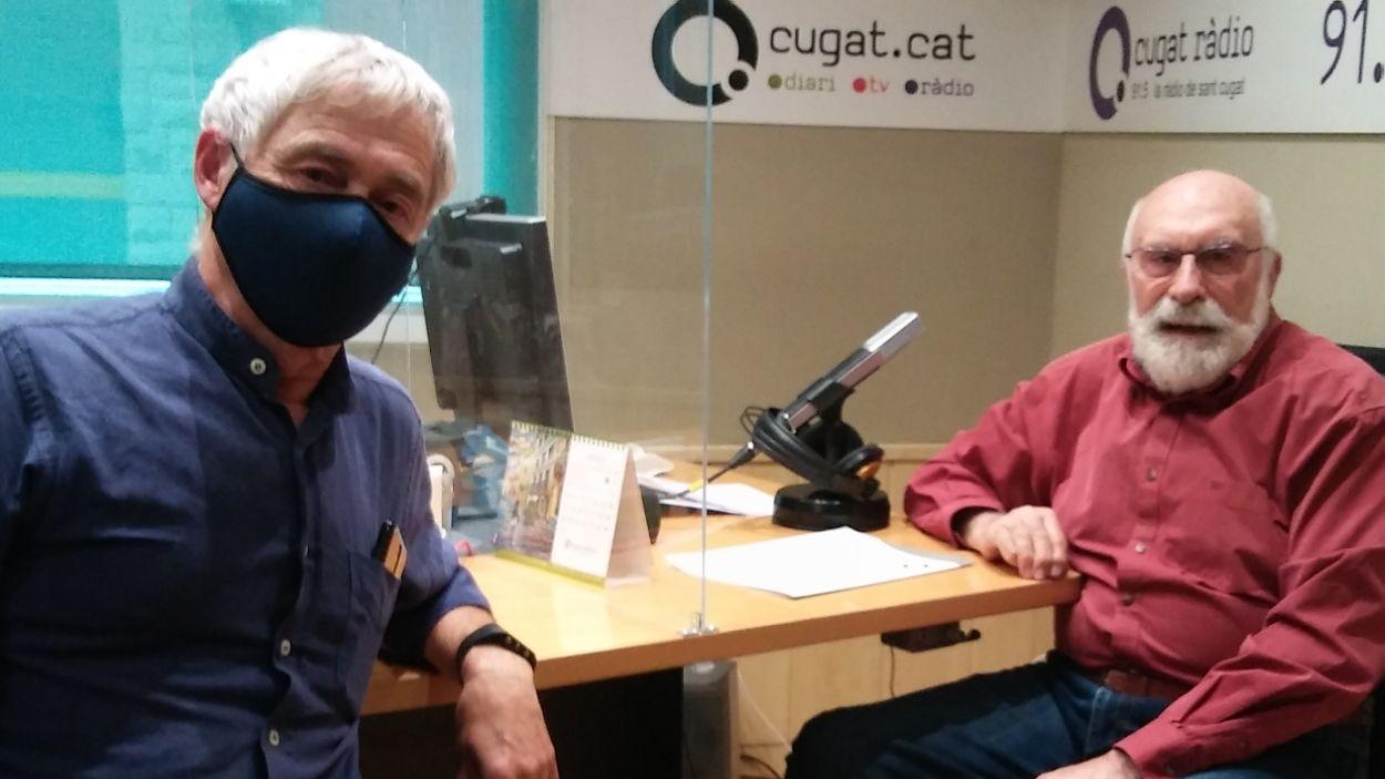 Carlos Tejedor i Eduard Jener / Foto: Cugat Mèdia