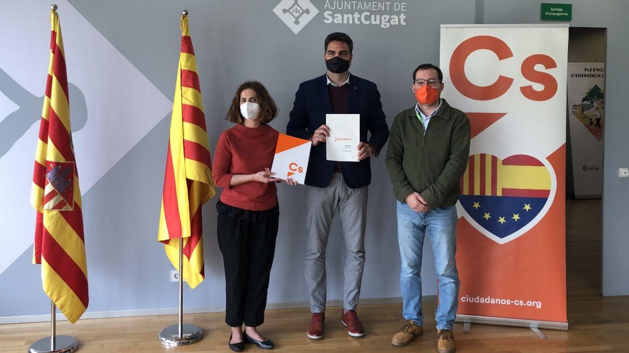 """Cs critica un pressupost municipal de Sant Cugat """"que no té en compte la crisi"""""""