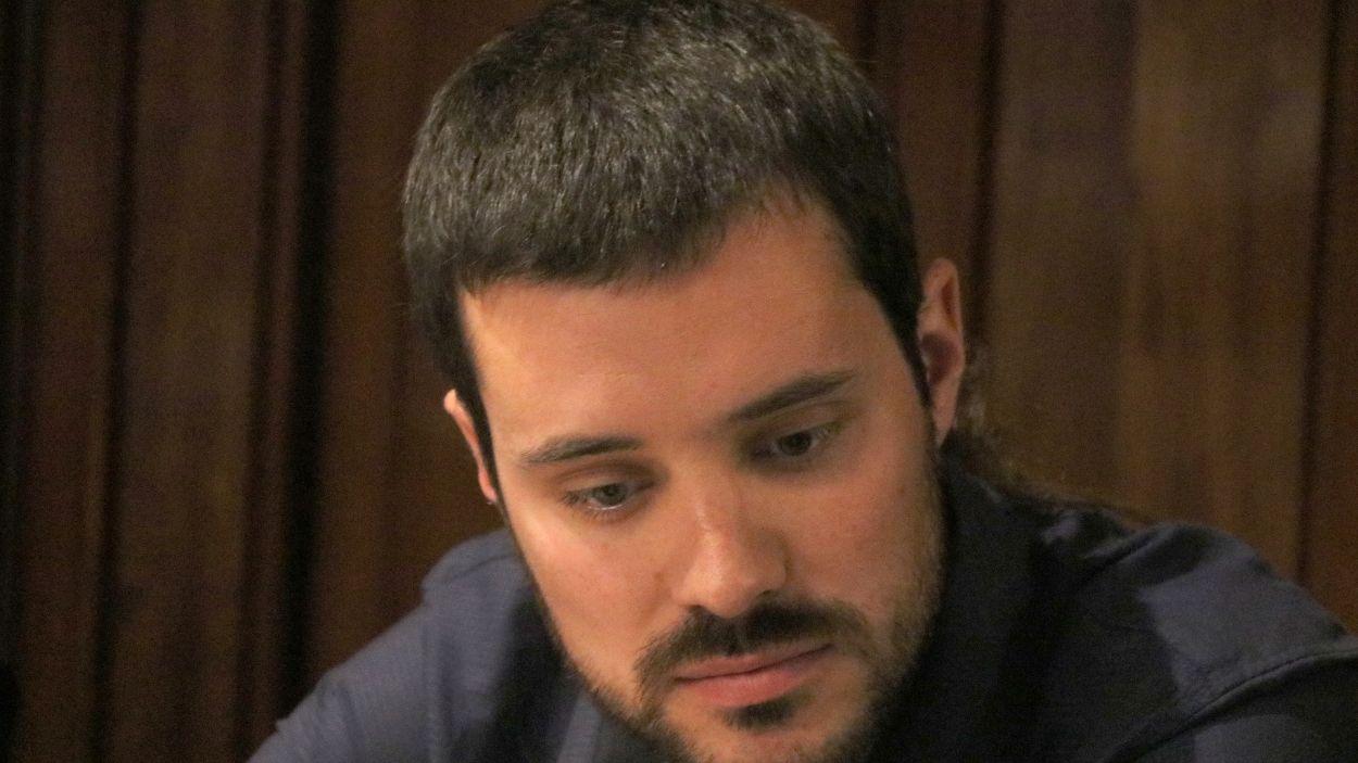 Bernat Picornell, al Senat / Foto: ACN