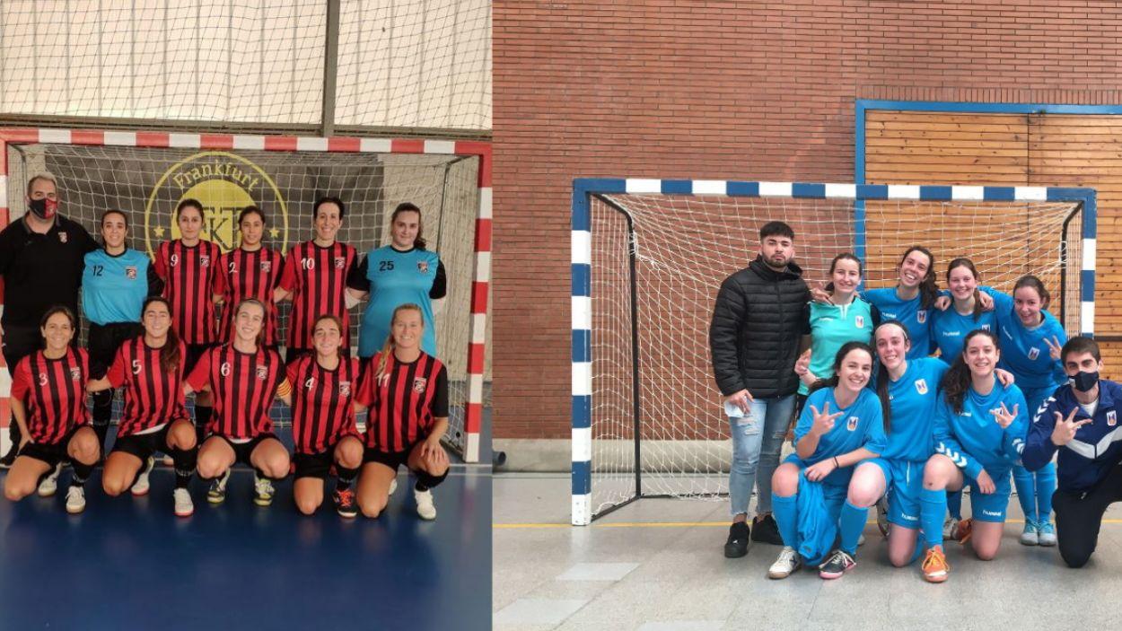 Futbol Sala Sant Cugat i Olímpyc Floresta volen pujar a Divisió d'Honor / Foto: Cedida