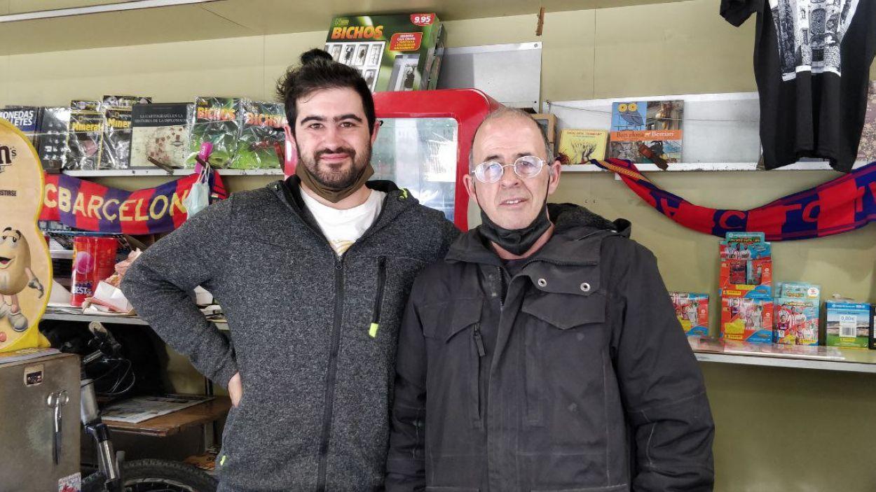 Naraian i Javier Llorente / Foto: Cugat Mèdia