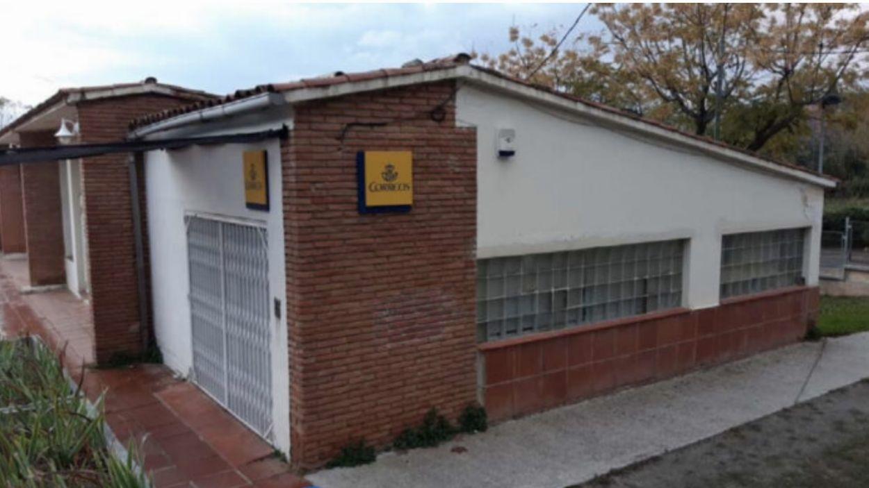 Exterior de l'oficina actual de Correus de Valldodreix / Foto: EMD Valldoreix