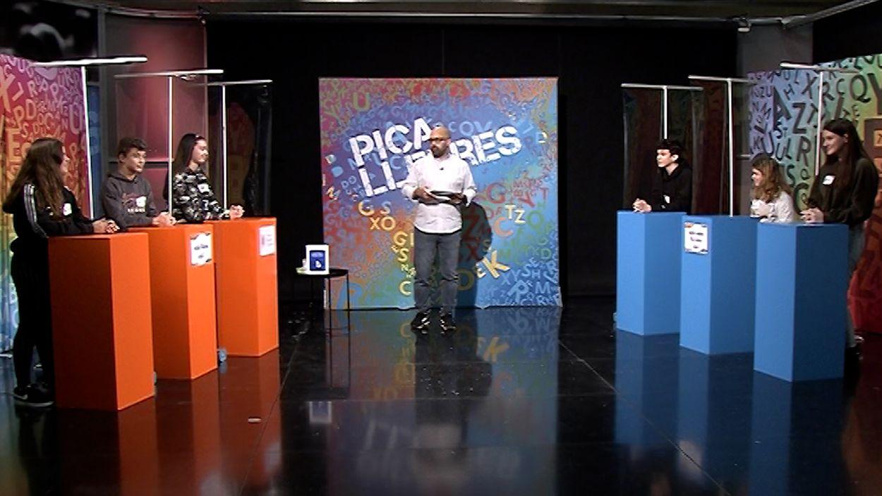 Imatge del programa tres de 'Pica Lletres' / Foto: Cugat Mèdia