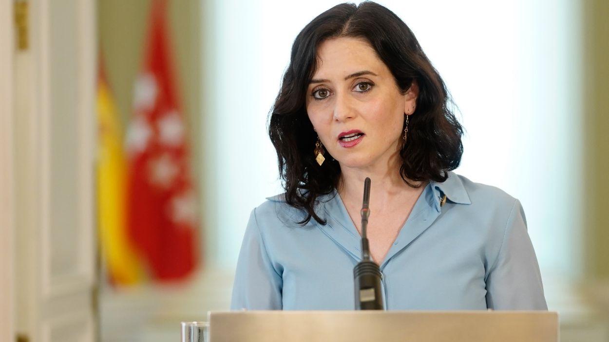 La presidenta en funcions de la Comunitat de Madrid, Isabel Díaz Ayuso / Foto: ACN