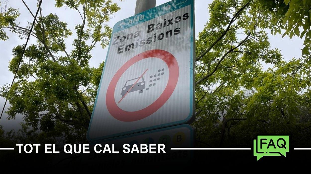 La Zona de Baixes Emissions de Sant Cugat entra en vigor aquest dissabte / Foto: Cugat Mèdia