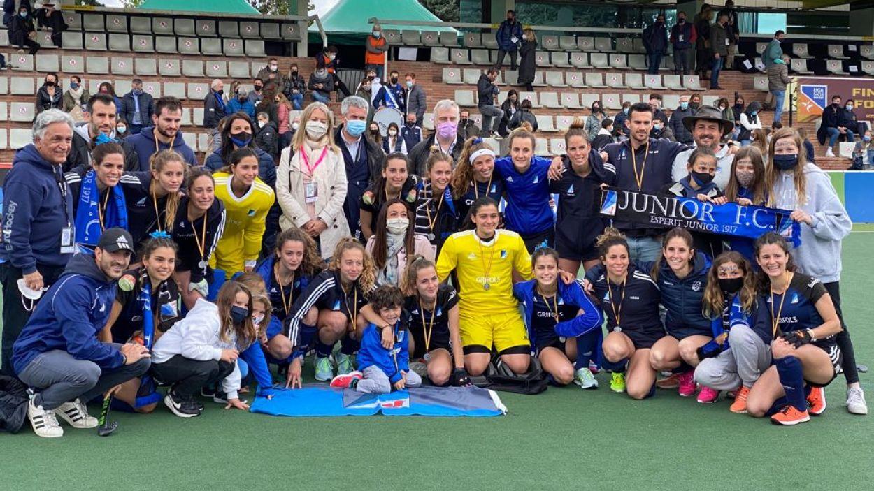 El Junior, subcampió de la Lliga Iberdrola / Foto: Cugat Mèdia