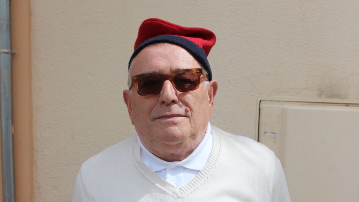 El cantaire Siscu Llamas va formar part de La Lira fins al final de la seva vida / Foto: cedida